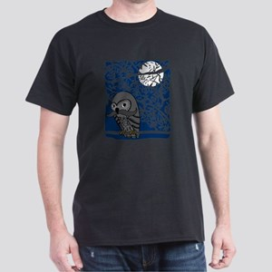 Owl with Mustache T-Shirt