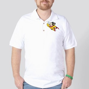 Grunge Mighty Mouse Golf Shirt