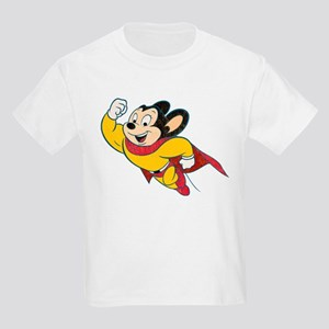 Grunge Mighty Mouse Kids Light T-Shirt