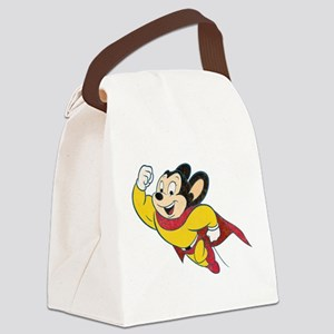Grunge Mighty Mouse Canvas Lunch Bag