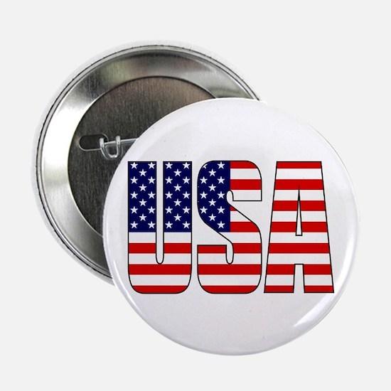 "USA Flag 2.25"" Button (10 pack)"