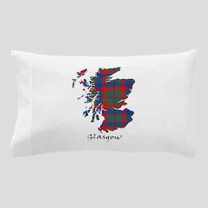 Map - Glasgow dist. Pillow Case