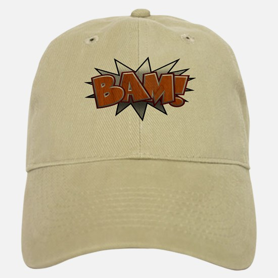 Metal-Wood Bam Baseball Baseball Cap