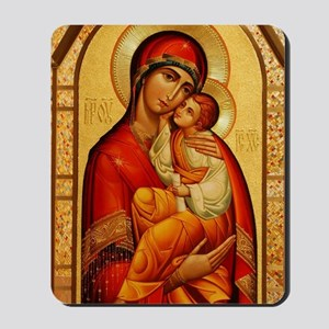 Mary The God Bearer Mousepad