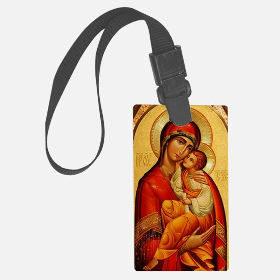 Mary The God Bearer Luggage Tag