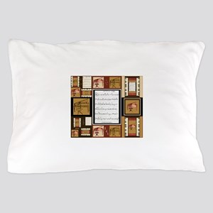 Pianos and Sheet Music Pillow Case