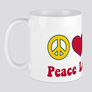 Peace Love Save Mug