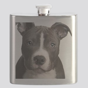 Pitbull Lovers Flask