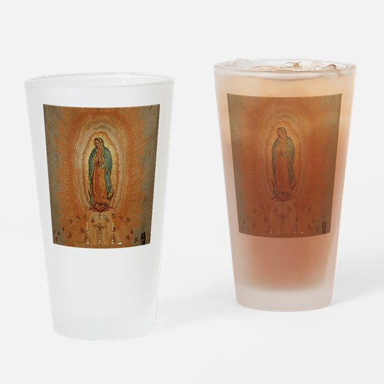 Lady of Guadalupe Drinking Glass
