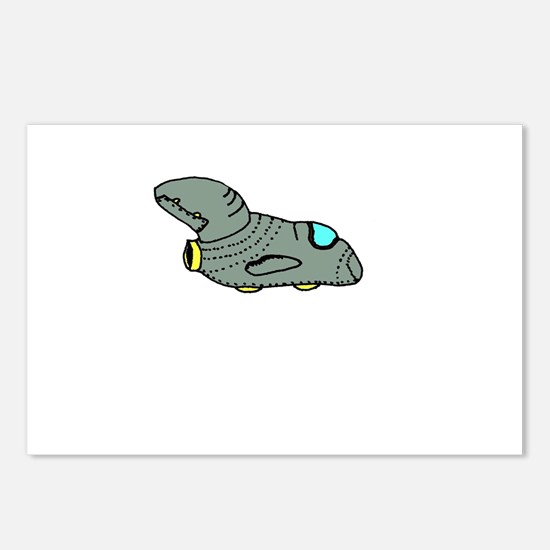 Spaceship Point Five Postcards (Package of 8)