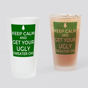 Ugly Sweater Party  Drinking Glass