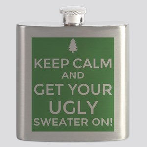 Ugly Sweater Party  Flask