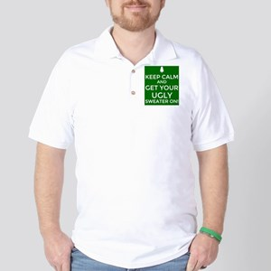 Ugly Sweater Party  Golf Shirt