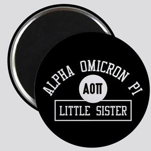 Alpha Omicron Pi Little Athletic Magnet