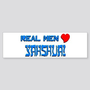 Real Men 1 Bumper Sticker