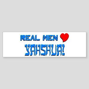 Real Men 1 Bumper Sticker