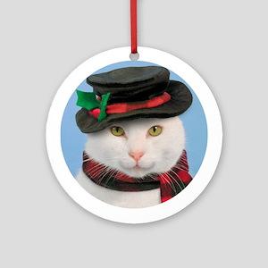 Snow-cat Ornament