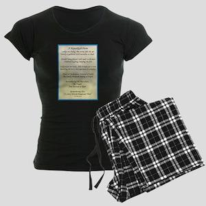 A Hanukkah Poem Pajamas