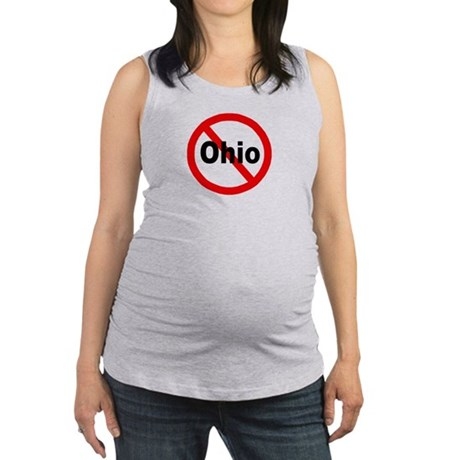 ohio.jpg Maternity Tank Top