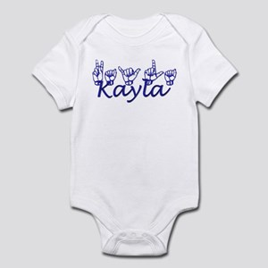 Kayla Infant Bodysuit