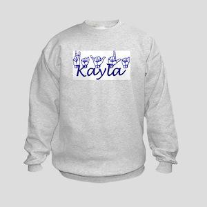 Kayla Kids Sweatshirt