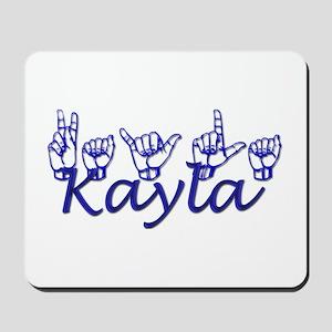 Kayla Mousepad