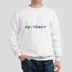 htmLove (Hers) Sweatshirt