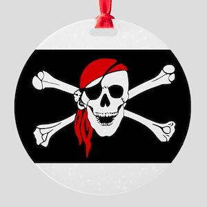 Pirate flag Ornament