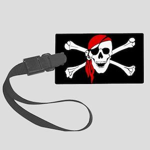 Pirate flag Luggage Tag