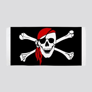 Pirate flag Beach Towel