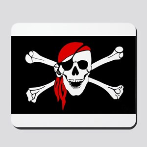 Pirate flag Mousepad