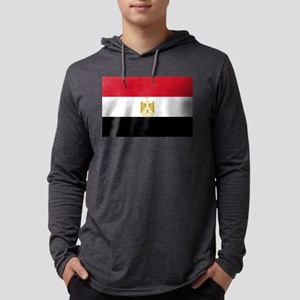 Flag of Egypt Long Sleeve T-Shirt