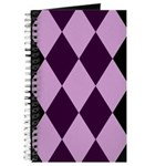 Checkers Purple Journal