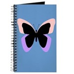 Baby Blue Butterfly Journal