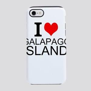 I Love Galapagos Islands iPhone 7 Tough Case