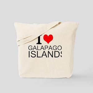 I Love Galapagos Islands Tote Bag