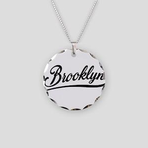 Brooklyn NYC Necklace Circle Charm