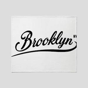 Brooklyn NYC Throw Blanket