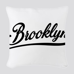 Brooklyn NYC Woven Throw Pillow