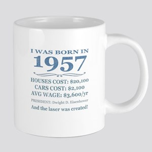 Birthday Facts-1957 Mugs