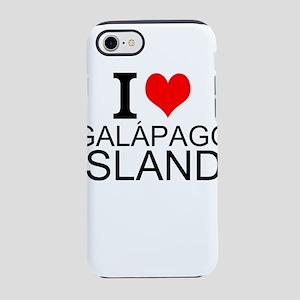 I Love Galápagos Islands iPhone 7 Tough Case