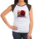 She Loves Me Not Women's Cap Sleeve T-Shirt