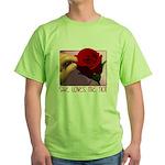 She Loves Me Not Green T-Shirt
