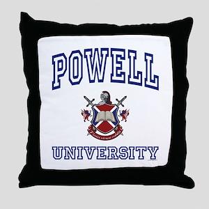 POWELL University Throw Pillow