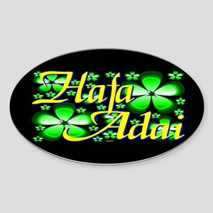 Hafa Adai Oval Sticker