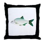 European Freshwater Bream Throw Pillow