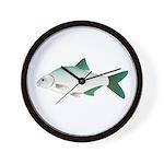 European Freshwater Bream Wall Clock