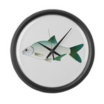 European Freshwater Bream Large Wall Clock