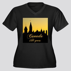 Canada - 150 years! Plus Size T-Shirt