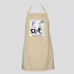 Looking Dignified in the Waiting Room Apron